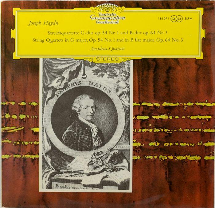 [SLPM138 071]アマデウス弦楽四重奏団/ハイドン弦楽四重奏曲第...  [SLPM13