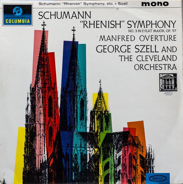 ジョージ・セル/ブラームス:交響曲第3番                                     ジョージ・セル/ブラームス:交響曲第3番