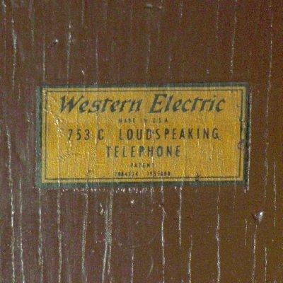 画像1: ウェスタン・エレクトリック753C
