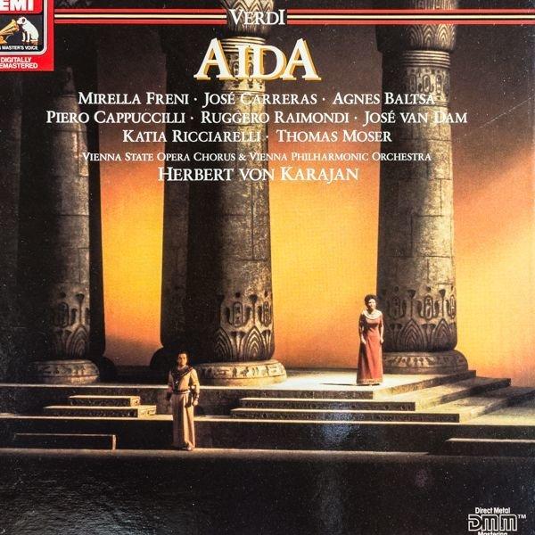 画像1: ヘルベルト・フォン・カラヤン指揮/ヴェルディ:歌劇「アイーダ」 (1)