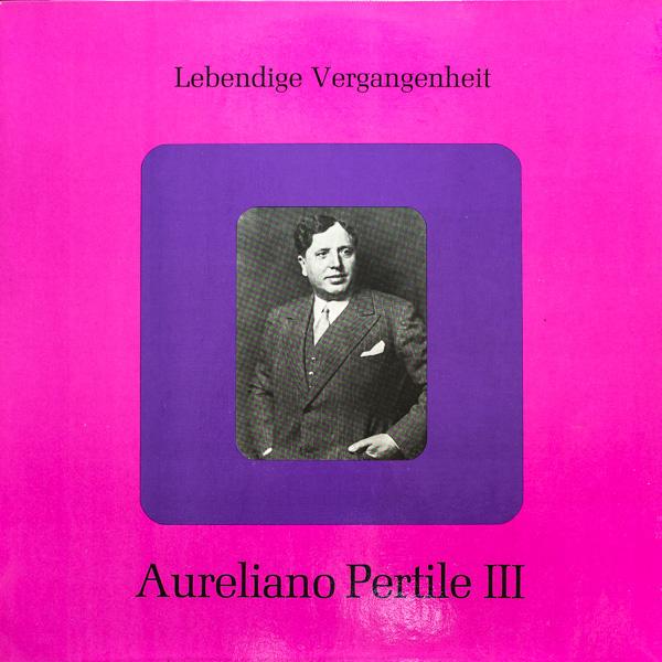 アウレリアーノ・ペルティーレ(tr)/リビング・ヒストリー ...