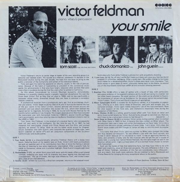ヴィクター・フェルドマン(p、V...